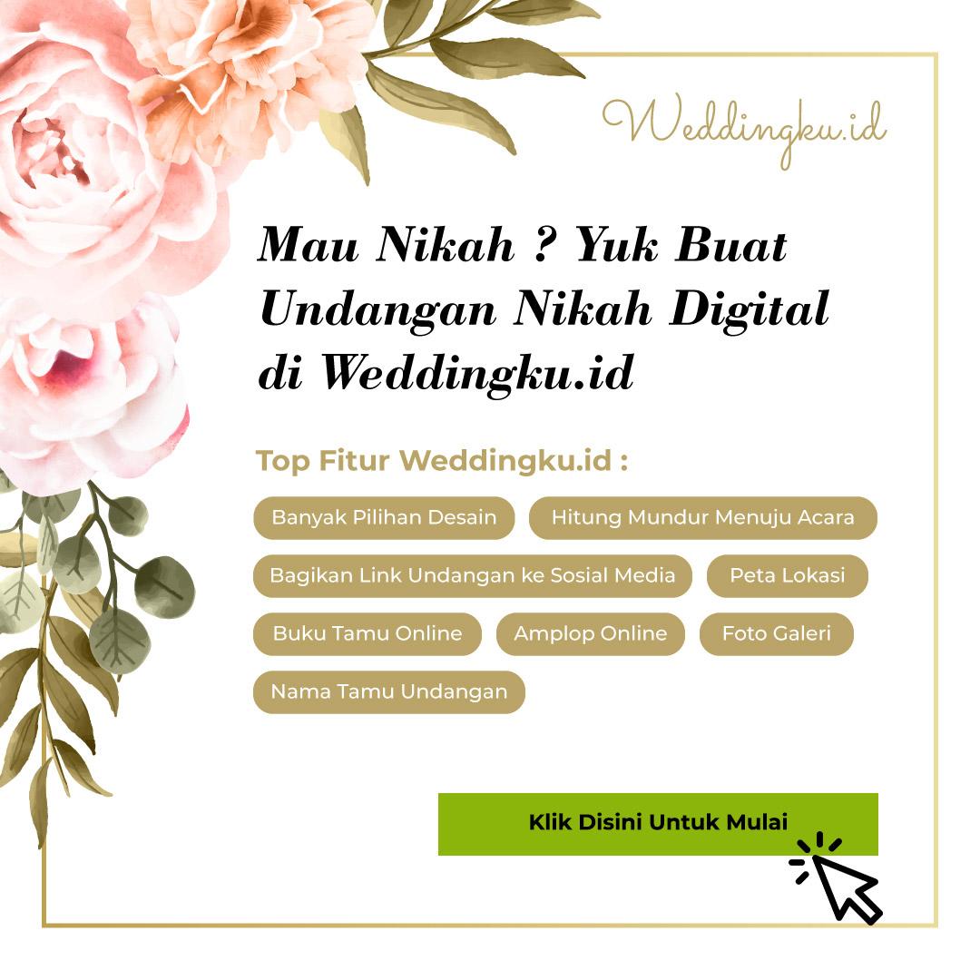 Buat Undangan Pernikahan Online